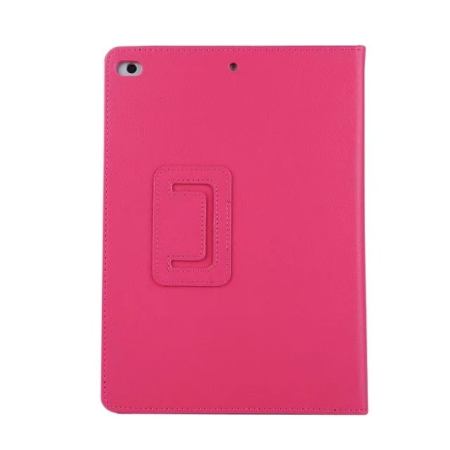 "9.7"" Smart Folding Cover Soft PU Leather Tablets Case for Apple iPad Pro 9.7 rose red 9.7"