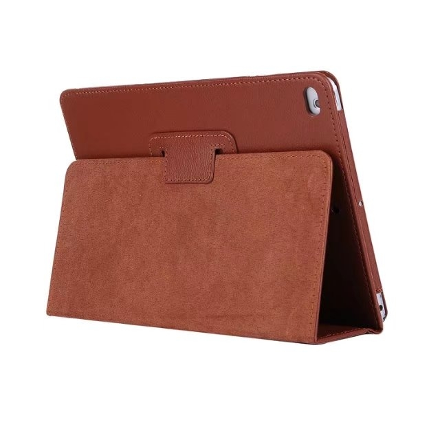 """9.7"""" Smart Folding Cover Soft PU Leather Tablets Case for Apple iPad Pro 9.7 brown 9.7"""