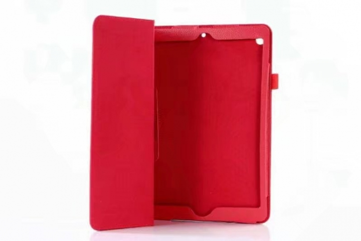 "10.5"" Folding PU Leather Case Soft Slim Tablets Cover Holder for Apple iPad Pro 10.5 red 10.5"