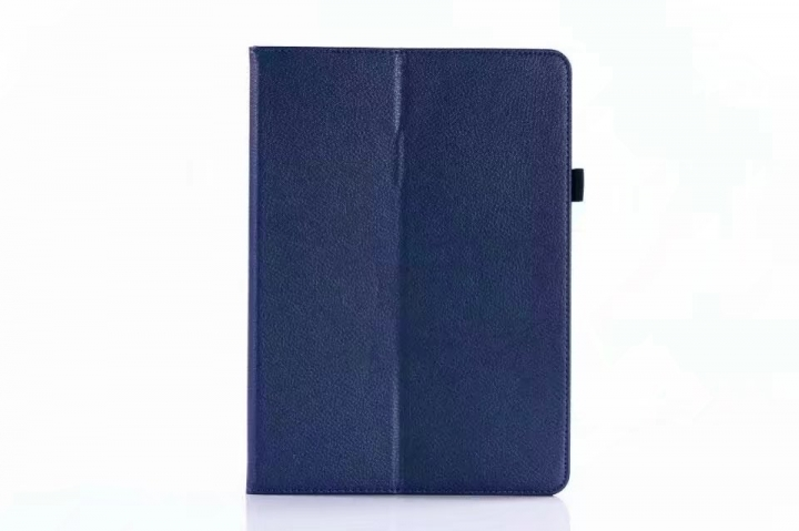 "10.5"" Folding PU Leather Case Soft Slim Tablets Cover Holder for Apple iPad Pro 10.5 blue 10.5"