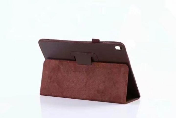 "10.5"" Folding PU Leather Case Soft Slim Tablets Cover Holder for Apple iPad Pro 10.5 brown 10.5"