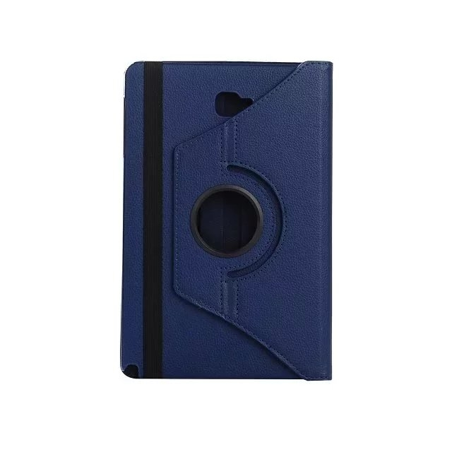 """10.1"""" Soft PU Fabric Tablets Case Cover 360 Degree Swivel Holder for Samsung Tab A 10.1 P580/P585 blue 10.1"""