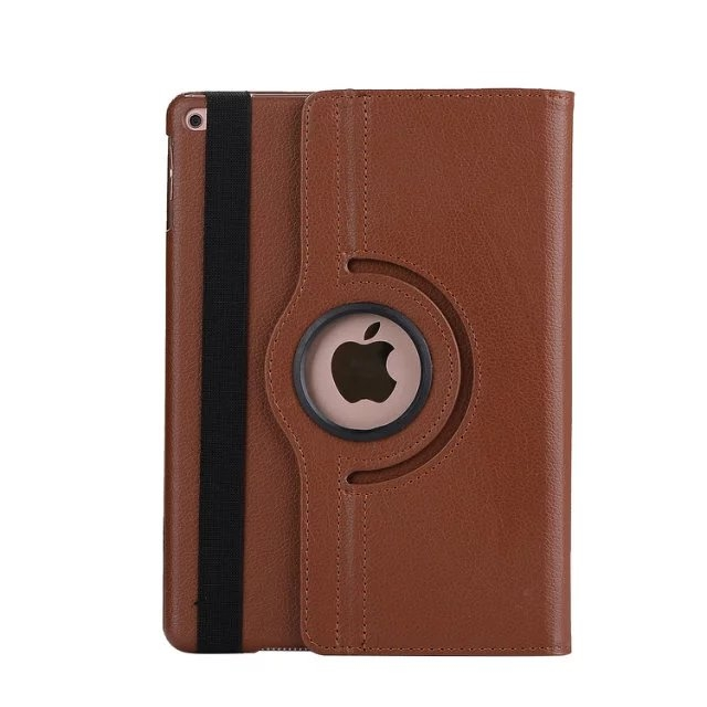 """9.7"""" Tablets Leather Cover 360 Degree Swivel Case with Holder for iPad pro 9.7 coffee 9.7"""