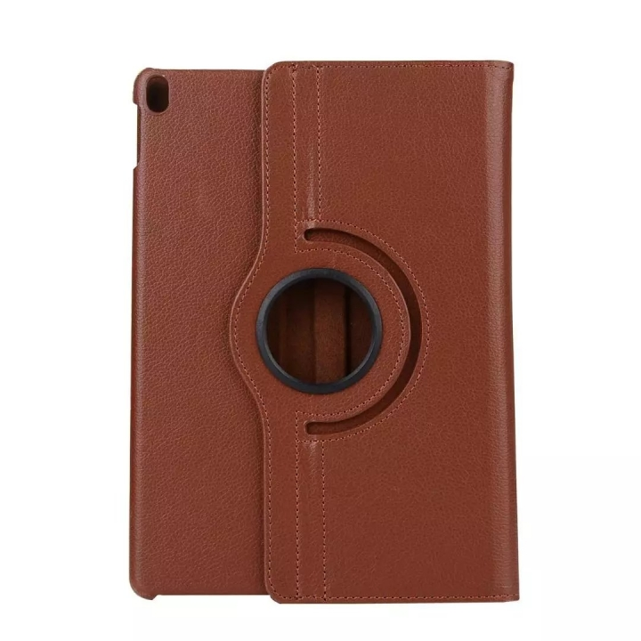"""10.5"""" 360 Degree Swivel Tablets Case Foldable Cover Holder for iPad Pro 10.5 coffee 10.5"""