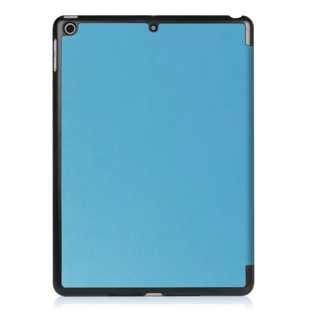"9.7"" High Quality Tablets Case Fiber Leather Thin Cover for Apple iPad Pro 9.7 sky blue 9.7"