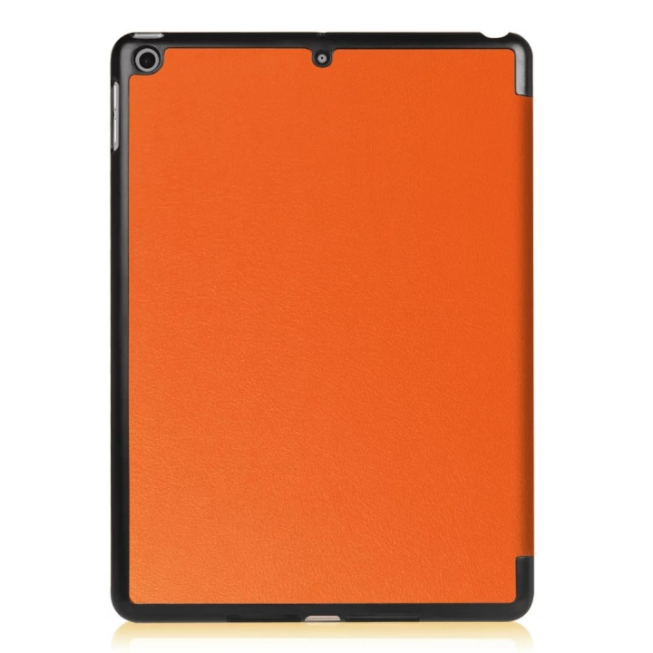 """9.7"""" High Quality Tablets Case Fiber Leather Thin Cover for Apple iPad Pro 9.7 orange 9.7"""