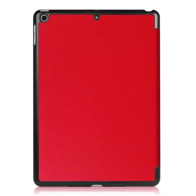 """9.7"""" High Quality Tablets Case Fiber Leather Thin Cover for Apple iPad Pro 9.7 red 9.7"""