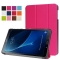 """10.1"""" PU Transparent Case Tablets Cover Hard Smart Cover Ultra Slim for Samsung TAB A 10.1 T580N red 10.1"""