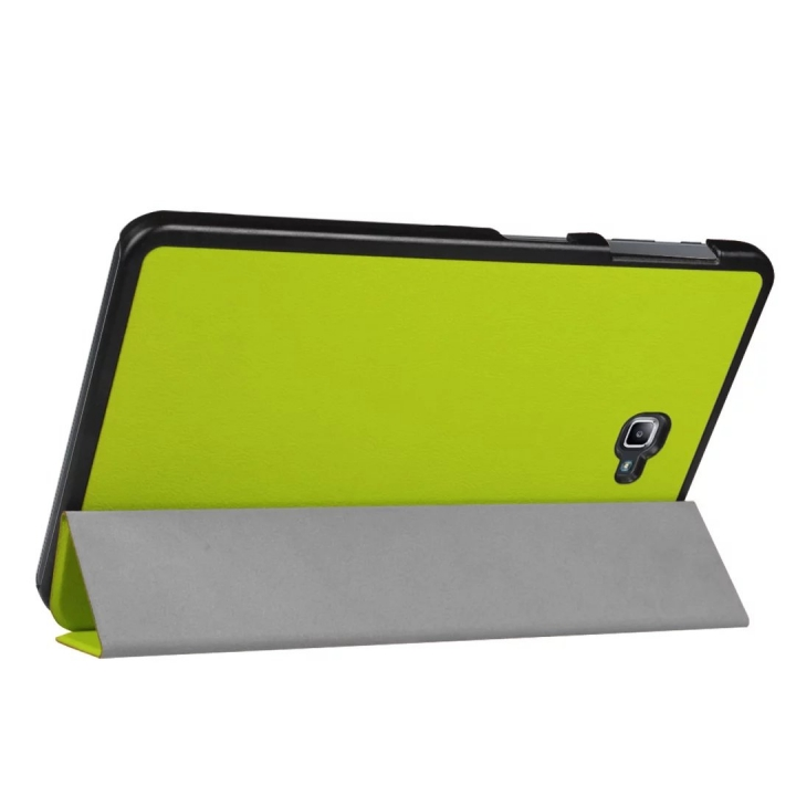 """10.1"""" PU Transparent Case Tablets Cover Hard Smart Cover Ultra Slim for Samsung TAB A 10.1 T580N green 10.1"""