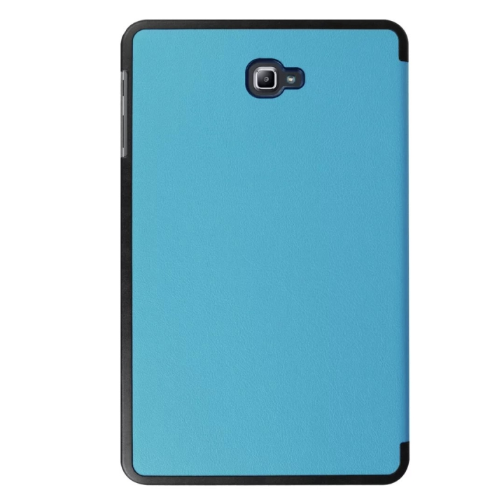 "10.1"" PU Transparent Case Tablets Cover Hard Smart Cover Ultra Slim for Samsung TAB A 10.1 T580N sky blue 10.1"