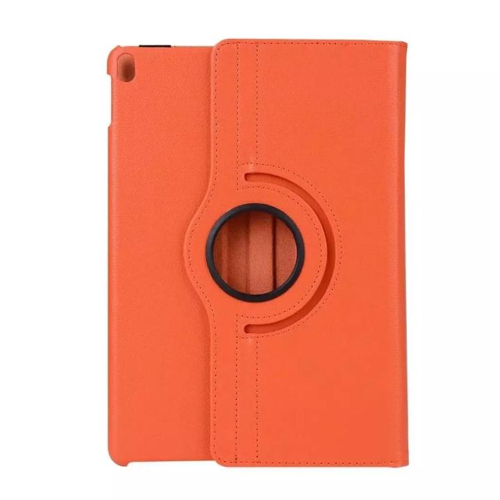 "10.5"" 360 Degree Swivel Tablets Case Foldable Cover Holder for iPad Pro 10.5 orange 10.5"