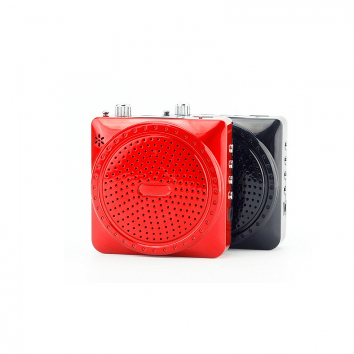 Mini Portable Speaker With Microphone Voice Amplifier Booster Megaphone Speaker FM TF for Teach
