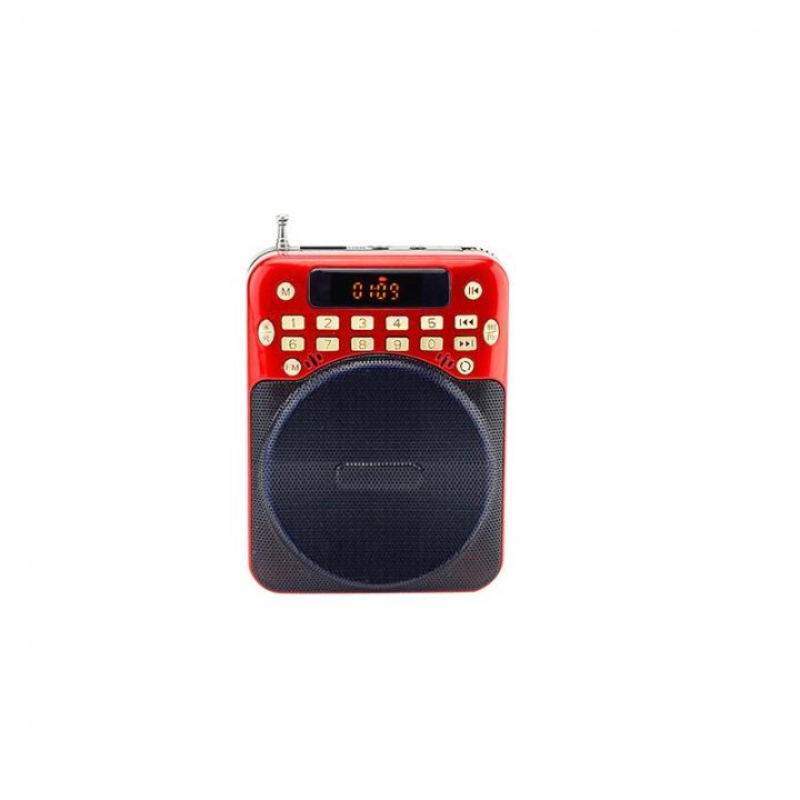 Portable Voice Amplifier PA Waistband Teaching Speaker Megaphone Loudspeaker