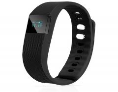 Bluetooth Smartwatch Sport Watch Smart Watch Heart Rate Smart Bracelet for Android IOS Warterproof Black One Size