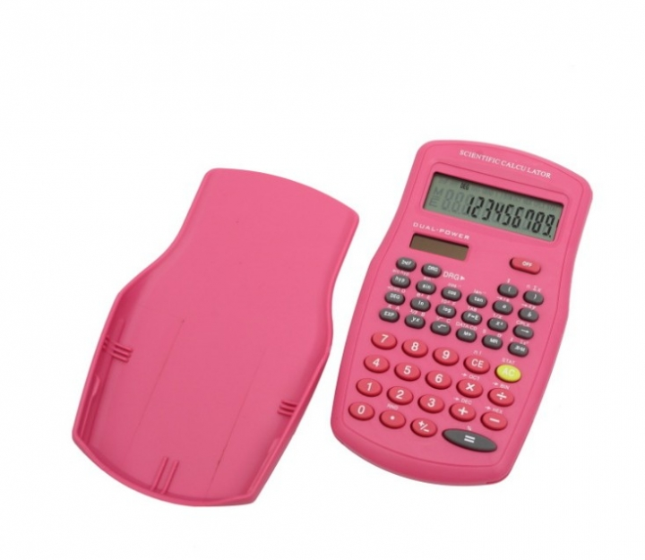 Portable 12 Digits Solar Electronic Calculator For Business Work and Students Study