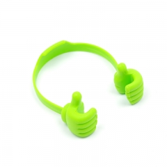 Cute Thumb Desktop Phone Holder Stand for Mobile Cell Phone Tablet Desk Stents Green One Size
