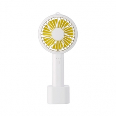 Shevi Air Conditioning Fans Colorful Portable Mini Fan Cooling Fan USB charging Cooler white