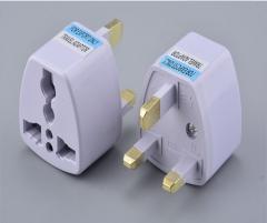 Shevi UK Standard Plug British Standard Socket Power Adapter white 250V 10A white UK