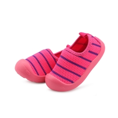 Shevi Toddler Shoes  Soft Bottom Non-slip Breathable Baby Shoes Casual for Boys Girls red 19