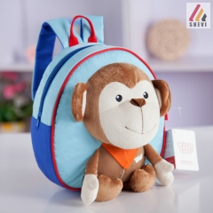Shevi Toddler Kids Children Boy Girl Anti-lost Cartoon Animal Backpack School Bag Rucksack