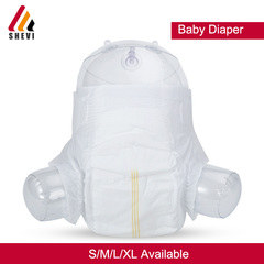 60pcs/pack Baby Infant diaper S M L XL size nappy (4-17kgs) friendly to baby's skin white m