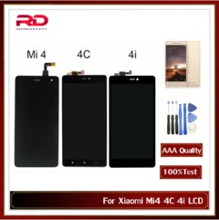 Xiaomi Mi4 LCD Display MI4C Touch Screen Digitizer for Xiaomi Mi 4 4C 4i LCD Panel 5.0