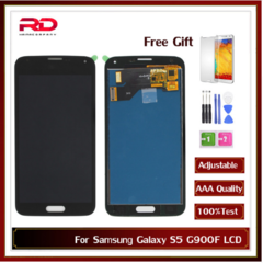 S5 AAA TFT LCD Screen For Samsung Galaxy s5 SM-G900 G900 i9600 G900R G900F G900H G900M Touch Screen white s5 aaa