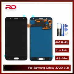 J7 J720 LCD For Samsung Galaxy J7 Duo 2018 LCD Display J720 LCD J720F SM-J720F Display Touch Screen black J720 AAA