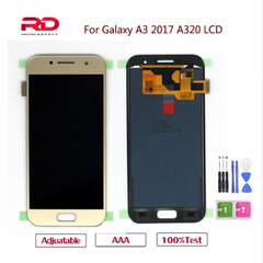 A320F LCD For Samsung Galaxy A3 2017 A320 A320M A320F LCD Display Touch Screen Digitizer Replacement black A320