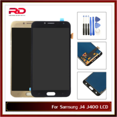 Adjust brightness For Samsung Galaxy J4 J400 SM- J400F J400H J400G / DS LCD Touch Screen no frame gold J400