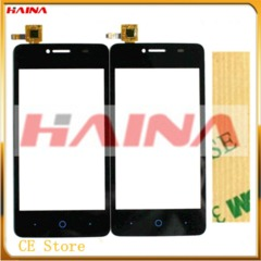 Touchscreen For ZTE Blade AF3 T221 A5 A5 Pro Touch Screen Glass Digitizer Front +3M adhesive black ZTE Blade AF3