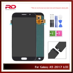 AAA Adjustable A520F LCD For Samsung Galaxy A5 2017 A520F A520F/DS A520K SM-A520F LCD Touch Screen black A520
