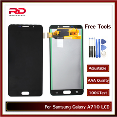 A710 Display For Samsung Galaxy A7 2016 LCD Touch Screen Digitizer for Samsung Galaxy A710 A710F black A710 TFT