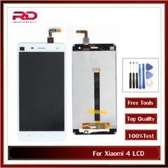 For Xiaomi 4 LCD Touch Screen Digitizer Replacement Black White 5.0 inch For Xiaomi Mi 4 Display white mi4