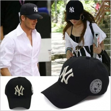 [Black Friday Price]Unisex New York Baseball Cap Adjustable Strapback Hat Black Adjustable