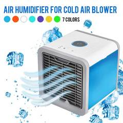 MCDFL Summer Portable Mini Air Conditioner Air Cooler Mini Fan Cooler Humidifier Home Office Desk