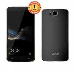 OWWO Carnival 6 - 6 Inch, 8MP + 2MP Camera, Memory: 1GB & 8GB ROM, 3000mAh battery, 2G/3G Smartphone Black