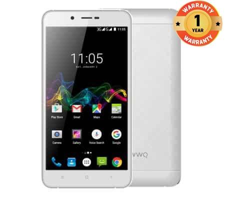 OWWO Carnival B5 5.5 INCH, 2MP/8MP,  1GB RAM/16GB ROM, 4000mAH, 2G/3G network, android 6.0 White