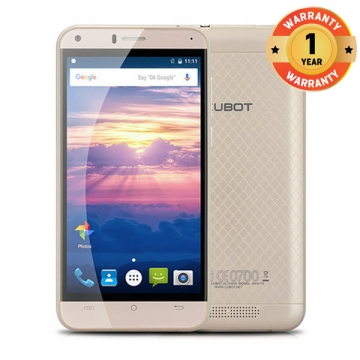 CUBOT MANITO 5.0 Inch HD Screen Smartphone Android 6.0 MTK6737  3GB RAM 16GB ROM Mobile Phone gold