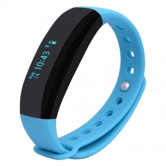 UNIVERSAL CUBOT V2 Touch Screen Heart Rate Bluetooth Life Waterproof Smart Wristband black 235*20*12(mm)