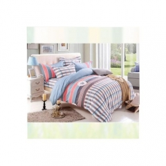 Four Piece Long Staple Cotton Duvet Cover sets multicoloured 200x 230cm