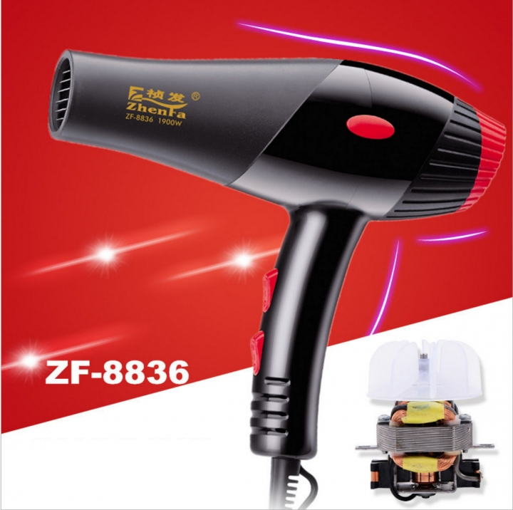 TAGA LIFE STYLE-ZF-8836 Professional hair DRYER for barber shop use black normal