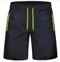 Quick Dry Shorts Men Casual Plus Size Summer Men's Shorts with Pocket Beach Breathable Shorts Male green 4xl
