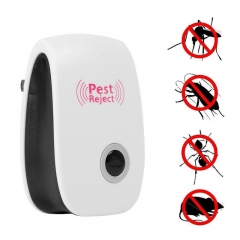 Electronic Ultrasonic Pest Reject Repeller Anti Mosquito Rat Mouse Insect Spider Roach Bug Fly