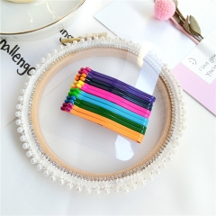 Rainbow Candy Hairpin Wedding Accessory Women Jewelry Hair Accessories Multiple Colour 16mm
