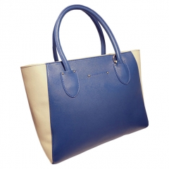 Toofn Handbag 4 colors Top quality fashion women casual tote bag Blue