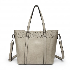TOOFN Brand new Lace Handbags shoulder bags gray f