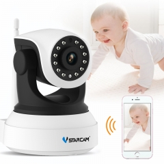 Baby Monitor wifi 2 way audio smart camera with motion detection Security IP Camera Wireless C7824WIP 720P