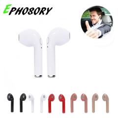 HBQ I7 Twins Mini Wireless Bluetooth Earphones Stereo Headset Sports Headphone red Twins