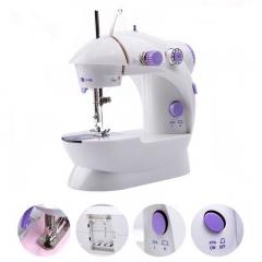 Mini Handheld Sewing Machines Dual Speed Double Thread Multifunction EU Electric Automatic Machine white UK Plug